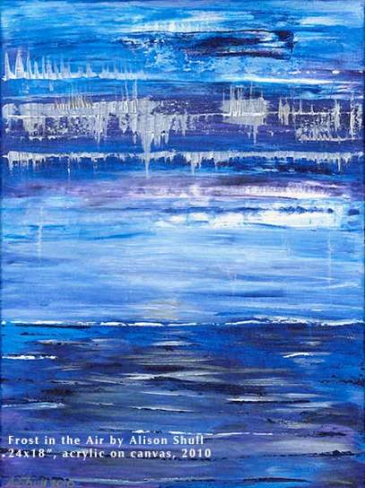 Painting: Frost in the Air by Alison Shull