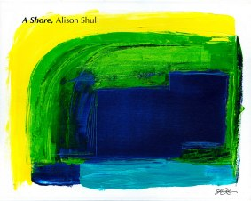 A Shore, original painting by Alison Shull