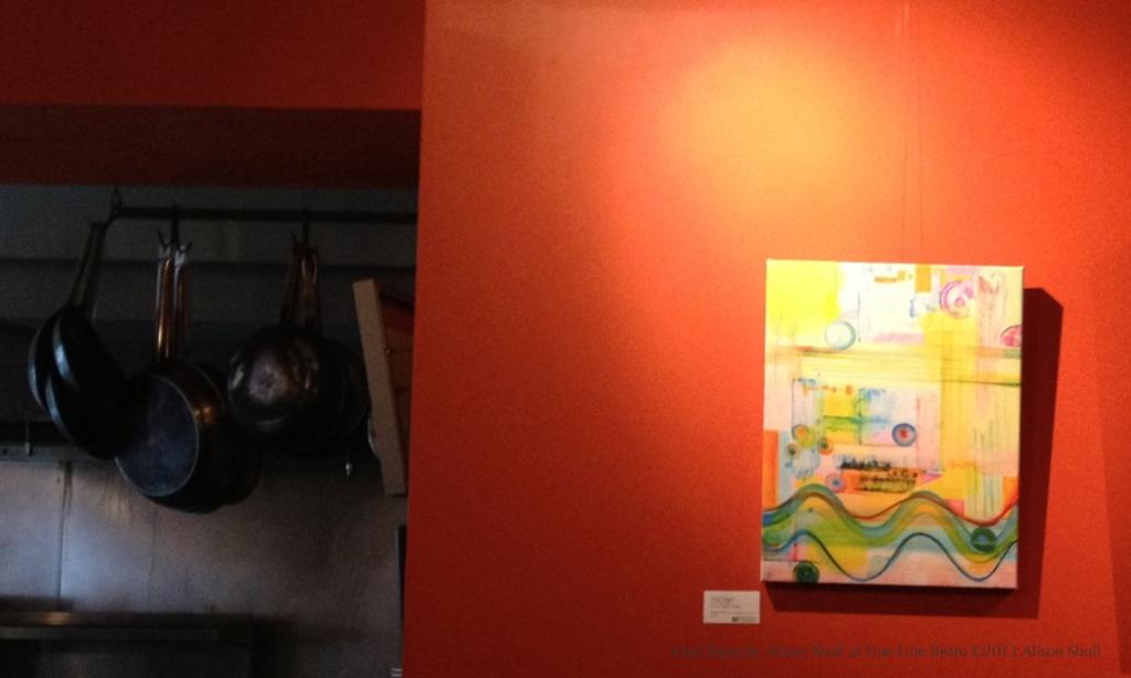 Alison Shull Art at Fine Line Bistro 2013: Vital Signs