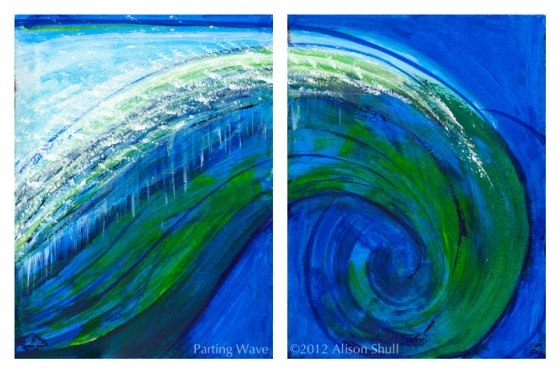 Parting Wave by Alison Shull