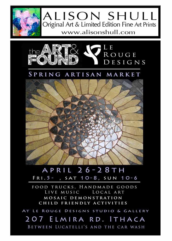 Alison Shull Art at Spring Artisan Market