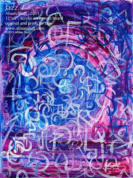 Jazz, I by Alison Shull