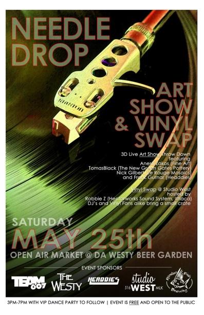 Needle Drop: Art Show & Vinyl Swap
