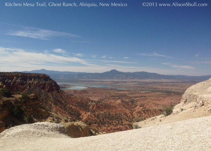 Kitchen Mesa Trail at Ghost Ranch, photography by Alison Shull
