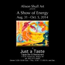 Alison Shull Art at Just a Taste 2014
